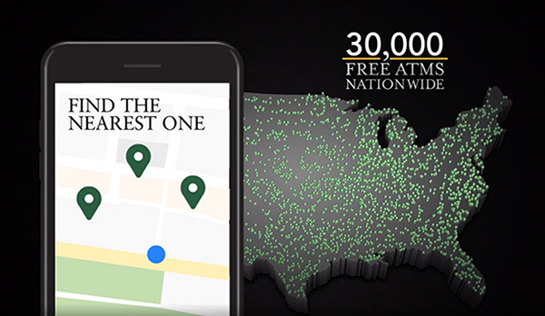 30,000 Free ATMs Nationwide: Find the nearest one